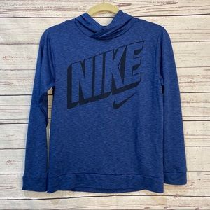 Nike kids long sleeved hoodie shirt